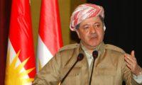 مسعود بارزاني: كردستان لن تصبح مقرا للإرهاب أبد