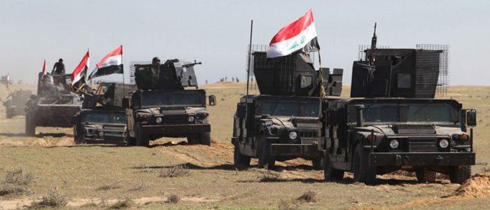 """الجيش العراقى يقصف استراحات لتنظيم """"داعش"""" فى محافظة صلاح الدين"""