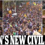 كتالونيا تهدد أسبانيا بحرب أهلية جديدة تحرق أوروبا