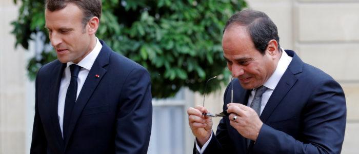 استقرار الشرق الأوسط والعلاقات الاقتصادية أبرز الملفات التي سيناقشها السيسي وماكرون في القاهرة
