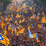 تظاهرة حاشدة في برشلونة تطالب بوحدة إسبانيا