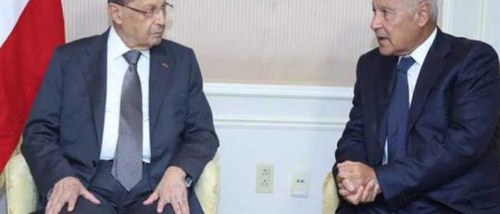 أبو الغيط من بيروت بعد إعلان حزب الله منظمة إرهابية..القرار العربي لا يستهدف لبنان ولن نسمح بنشر الخلاف في الداخل