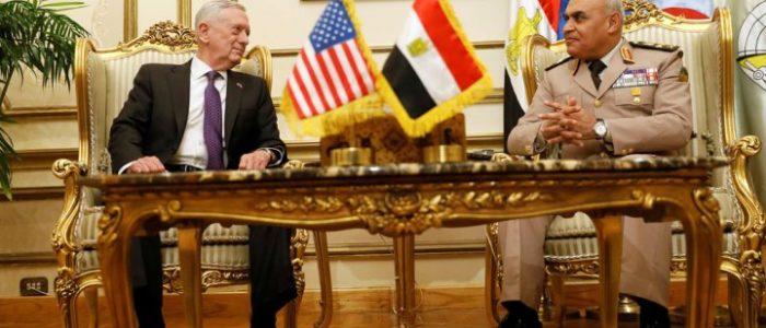 الجيش الأمريكي يعتذر للقوات المسلحة المصرية بسبب خطأ القيادة المركزية