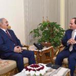 بعد الواحات.. حفتر في القاهرة لبحث تأمين الحدود وتوحيد الجيش الليبي