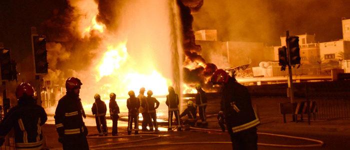 السعودية توقف ضخ النفط وتشدد الإجراءات الأمنية بعد إرهاب إيران في البحرين