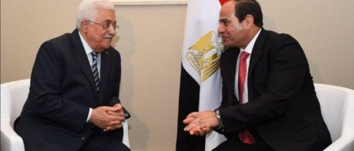 الرئيس الفلسطيني: حل الدولتين في خطر..ونقدر جهود مصر لتوحيد الشعب الفلسطيني