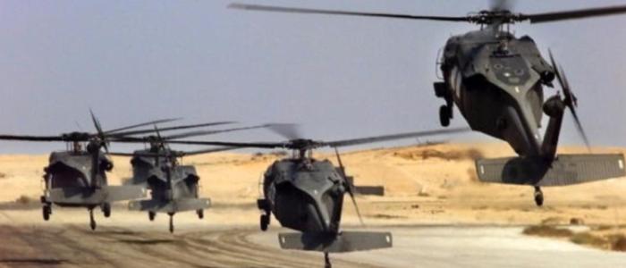 الجيش يدمر قافلة أسلحة وذخائر حاولت التسلل إلى مصر من ليبيا