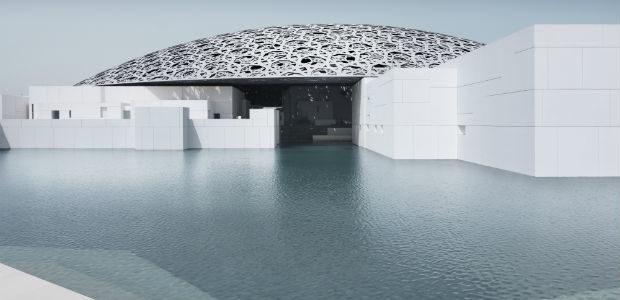 بالصور.. افتتاح متحف اللوفر أبو ظبي .. بن راشد : نحارب الإرهاب بالجمال