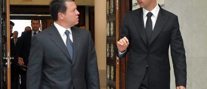 لأول مرة .. رئيس الديوان  الملكي الأردني إلى دمشق حاملا إلى الأسد