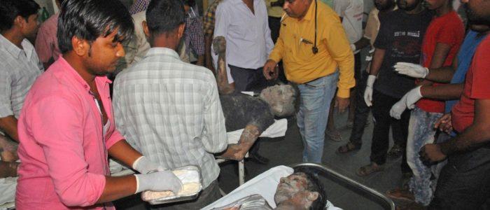 26 قتيلا في انفجار محطة للطاقة بالهند