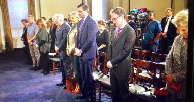 أعضاء الكونجرس الأمريكي يقفون دقيقة حداد على شهداء مسجد الروضة
