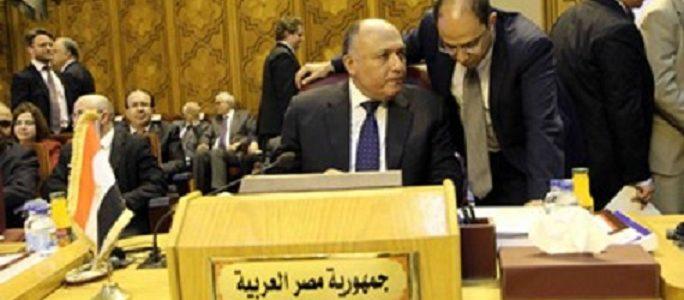 شكري لوزراء الخارجية العرب: أمن الخليج خط أحمر ونرفض تدخل إيران والاستعانة بقوات أجنبية
