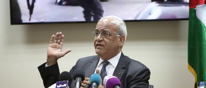 عريقات: الولايات المتحدة تبتز الفلسطينيين ولم تقترح خطة سلام شاملة