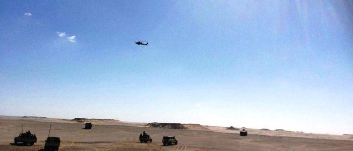 بالفيديو : الصاعقة تبيد جميع إرهابيي الواحات بدعم القوات الجوية