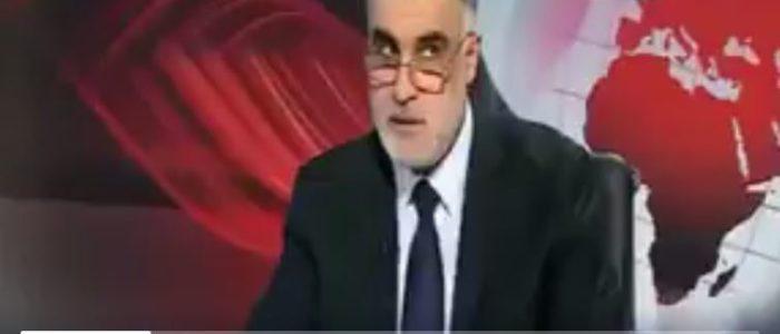 بالفيديو : شاهد لحظة وقوع زلزال العراق المدمر على الهواء مباشرة