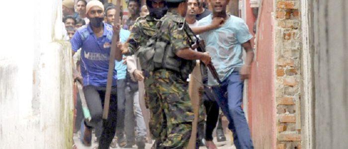 سريلانكا تنشر الجيش وتعلن حظر التجول لوقف العنف الطائفي ضد البوذيين