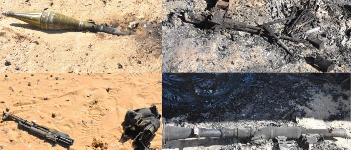 10 صور تجسد بطولة الجيش المصري في القضاء على إرهابيي الواحات