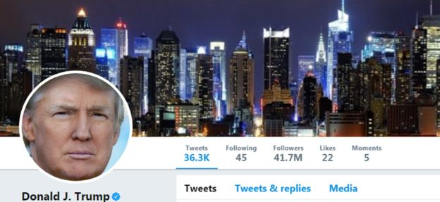 تويتر يكشف السر وراء توقف حساب الرئيس ترامب