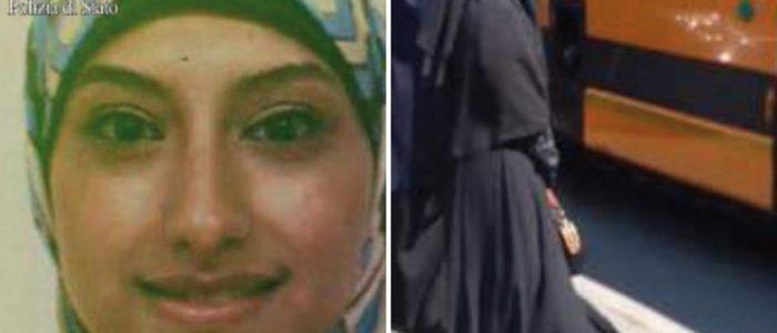 أول صورة للفتاة المصرية التي طردتها إيطاليا لتأييد لداعش
