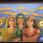 المرأة والطبيعة في لوحات الفنانة عفاف عبد العال