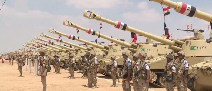 الجيش يواصل عملياته في سيناء