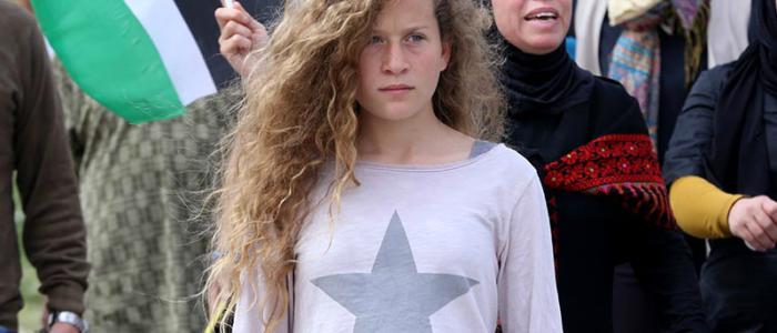 إسرائيل تطلق سراح الطفلة عهد التميمى الأحد المقبل