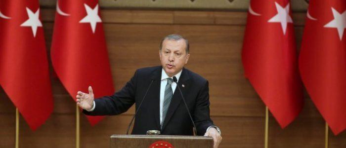 أردوغان يعلن بدء العملية العسكرية شمالي سوريا