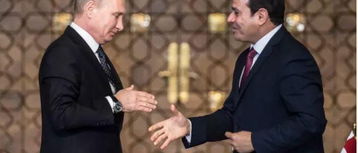 الغرب يراقب التقارب النووي المصري الروسي..وزيارة بوتين تعمق العلاقة مع السيسي