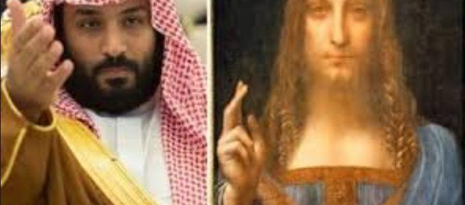تعرف على مالك لوحة مخلص العالم .. محمد بن سلمان لم يشترها..رحلة غريبة من دافنشي إلى أبوظبي