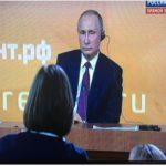 بوتين: ارتفاع الناتج المحلي الوطني جعل روسيا تتجاوز الأزمة الاقتصادية وترامب أخلف وعوده الانتخابية