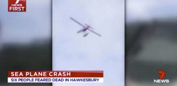 بالفيديو.. شاهد لحظة تحطم طائرة برمائية في سيدني باستراليا
