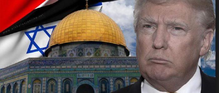 نكبة جديدة..ترامب قدم القدس عاصمة لإسرائيل..مصر تصفه بفاقد الشرعية..جيش الاحتلال يتأهب والمارينز يحمي السفارات