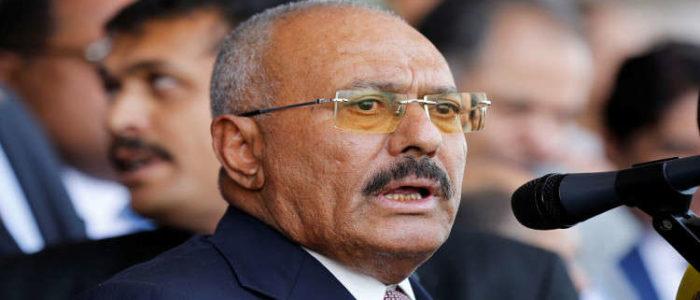 عبدالله صالح يطلب مساعدة السعودية للقضاء على الحوثيين