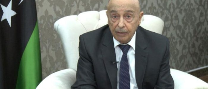 رئيس برلمان ليبيا المنتخب يدعو الشعب لانتخابات رئاسية وبرلمانية ويحي الجيش الوطني الليبي