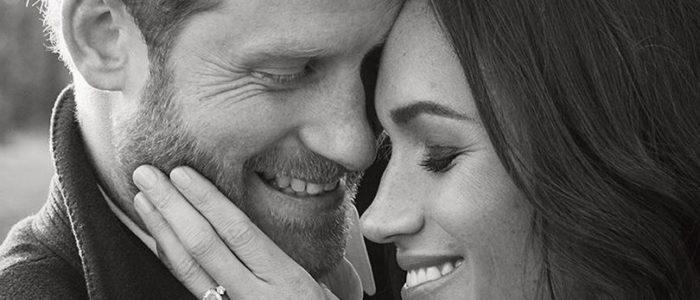 العائلة الملكية البريطانية تنشر صورا رومانسية لهاري وميجان