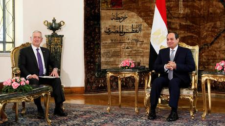 وزير الدفاع الأمريكي ماتيس يزور مصر ويلتقي السيسي وصدقي صبحي ورئيس المخابرات