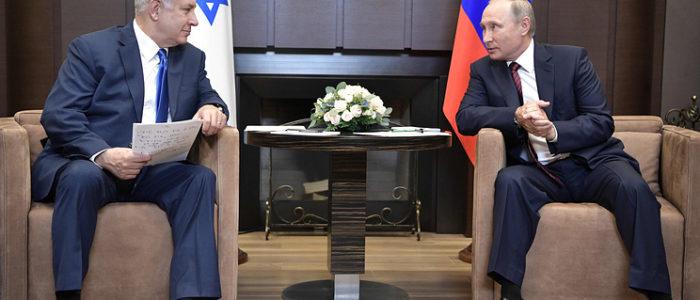 بوتين ونتنياهو يلتقيان اليوم في موسكو