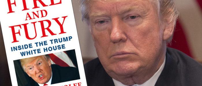 """كتاب """"النار والغضب"""" يحرق واشنطن ويشكك في قدرة ترامب العقلية"""