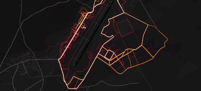 """تطبيق """"سترافا"""" للياقة البدنية يكشف عن مواقع عسكرية سرية أمريكية"""