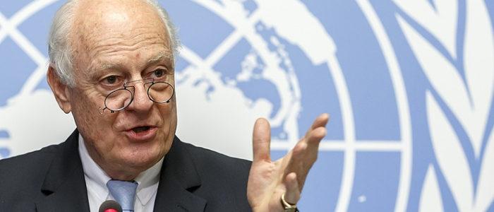 ستيفان دي ميستورا يصل موسكو للمشاركة في المؤتمر السوري