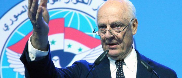 محادثات السلام السورية المدعومة من روسيا تتفق علي دستور جديد