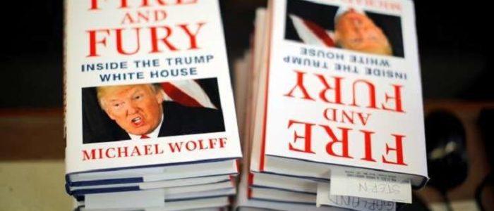 """كتاب """"نار وغضب"""" عن أزمات ترامب في حكم أمريكا يحقق مبيعات قياسية"""