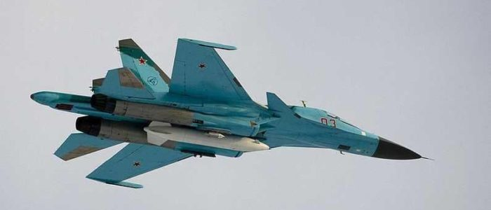 """المقاتلة الروسية """"سو27"""" تعترض طائرة تجسس أمريكية في البحر الأسود"""