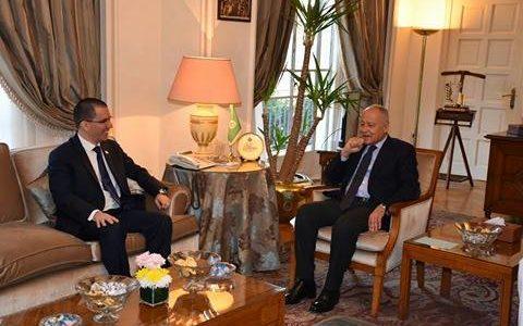 أبو الغيط يدعو الى تضافر الجهود الدولية لمساندة القضية الفلسطينية