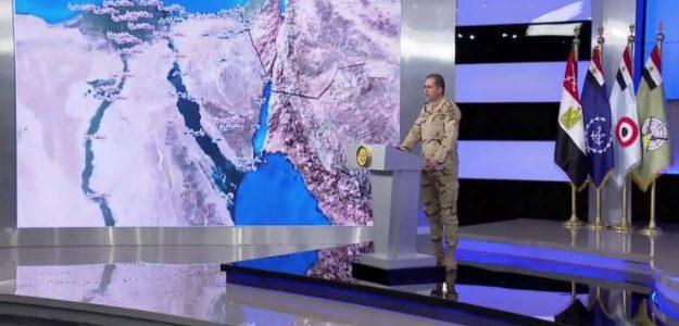 مصر تطلق حرب كبيرة علي تنظيم داعش في سيناء