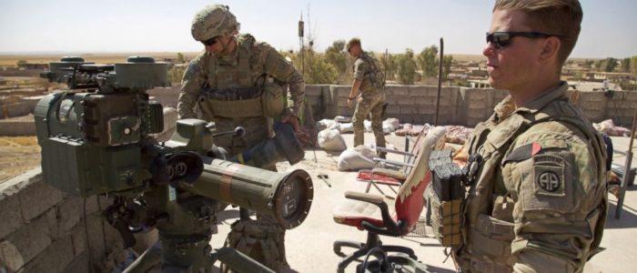 الولايات المتحدة تسحب قواتها من العراق وتنقلهم إلي افغانستان بعد انتصارها علي داعش
