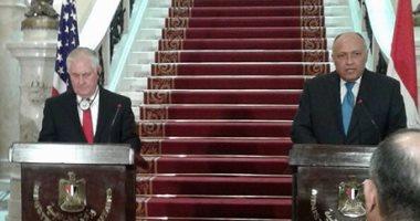 تيلرسون: ندعم انتخابات شفافه في مصر واتفقنا علي محاربة الإرهاب