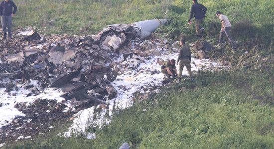 """سوريا تسقط طائرة إسرائيلية من طراز """"F16"""""""
