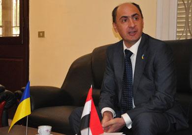 سفير أوكرانيا بالقاهرة: دور مصر في مكافحة الإرهاب رائد والأمان سبب استمرار تدفق الأوكران الي مصر
