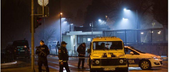 هجوم انتحاري علي السفارة الأمريكية في مونتينيجرو